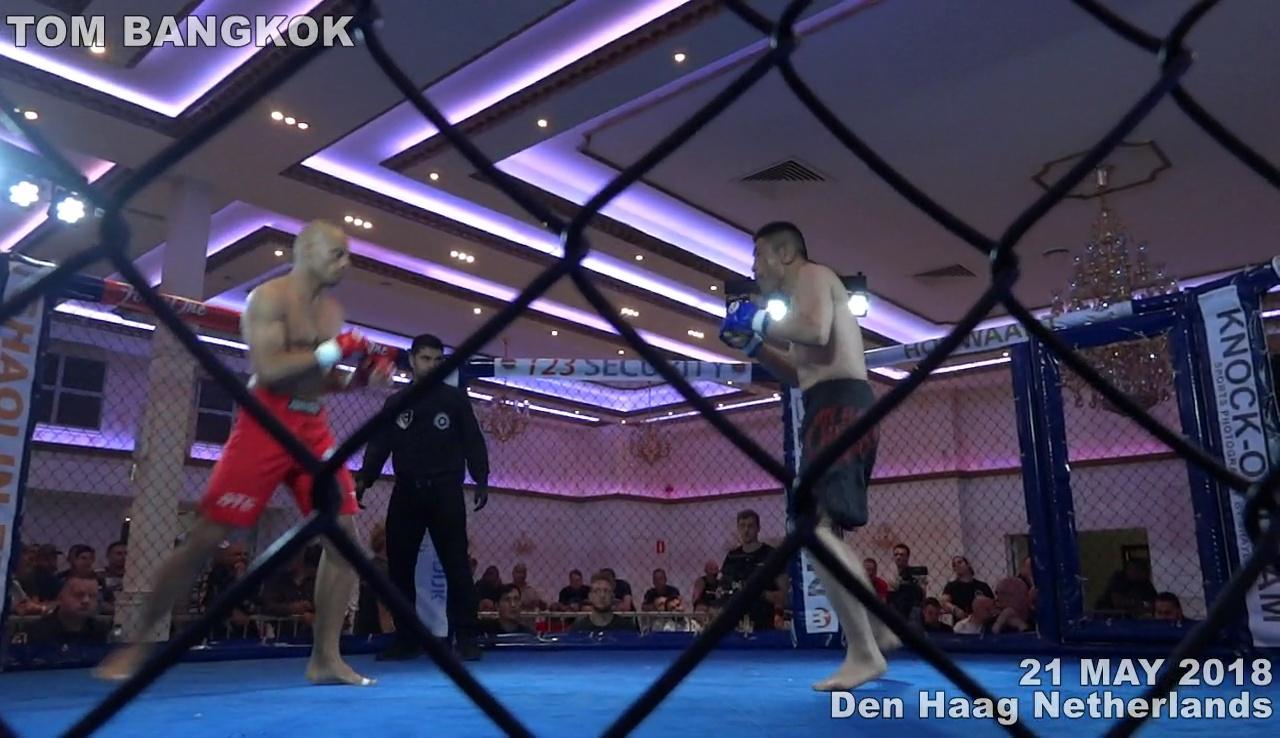 中川達彦vsマーク・ドゥンカン in Figth Club Den Haag